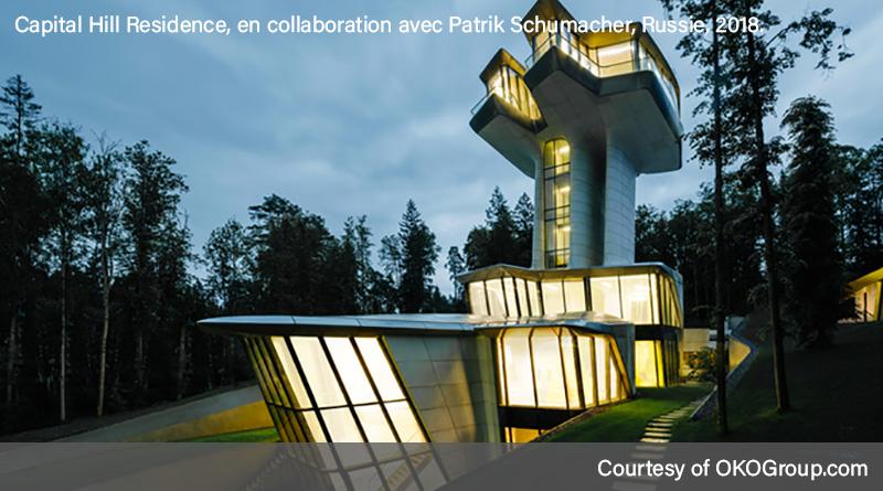 Oeuvre de Zaha Hadid - Capital Hill Residence en Russie