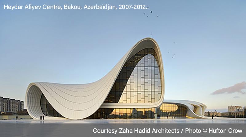 Oeuvre de Zaha Hadid - Heydar Aliyev Centre en Azerbaïdjan