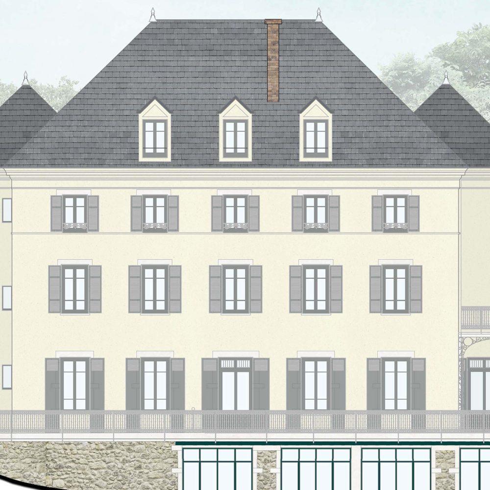 Image 3D du projet Le Clos Deshay à Sainte-Foy-lès-Lyon