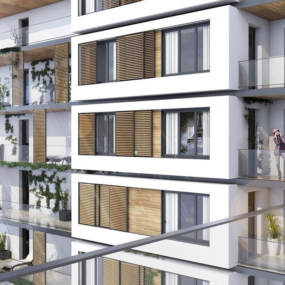 Image 3D du projet BAO Marseille - appartements