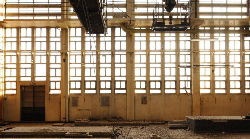 Réalisation aweck : réhabilitation chaufferie antiquaille - intérieur fenêtre