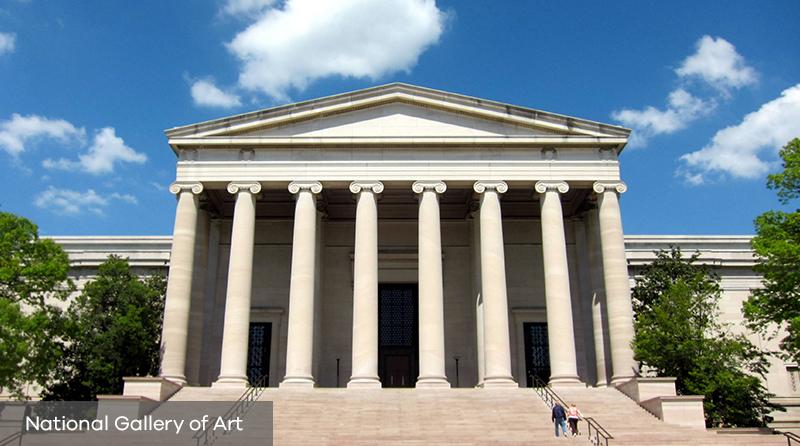 Décès de Ieoh Ming Pei : son oeuvre National Gallery of Art de Washington