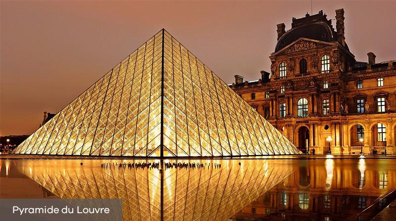 Décès de Ieoh Ming Pei : Pyramide du Louvre à Paris