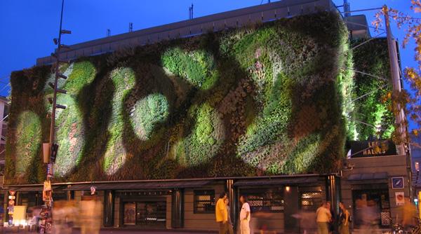 Le bâtiment végétal du Marché des Halles à Avignon